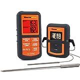 ThermoPro TP08 Wireless Termometro Digitale da Cucina Carne Forno Barbecue con Doppia Sonda per Cibo...
