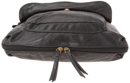 Best Mountain Shine, Borsa a spalla donna Nero (nero)