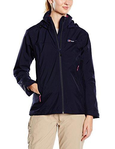 Berghaus Women's Stormcloud Waterproof Jacket – Evening Blue/Evening Blue, Size 16 by Berghaus