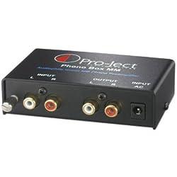 Pro-Ject Phono Box MM - Preamplificador para equipo de audio (RCA, 32 dB), color negro