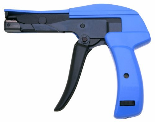 xcelite-dct300v-die-cast-steel-flush-cut-point-datacom-cable-tie-gun-with-steel-handle-7-length-by-a
