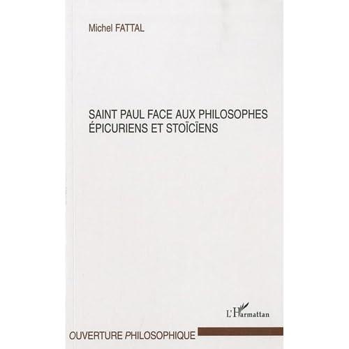 Saint Paul face aux philosophes épicuriens et stoïciens (Ouverture philosophique)