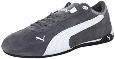 Puma Fast Cat 304219, Herren Sneaker, Grau (steel gray-black-white 09), EU 39 (UK 6) (US 7)