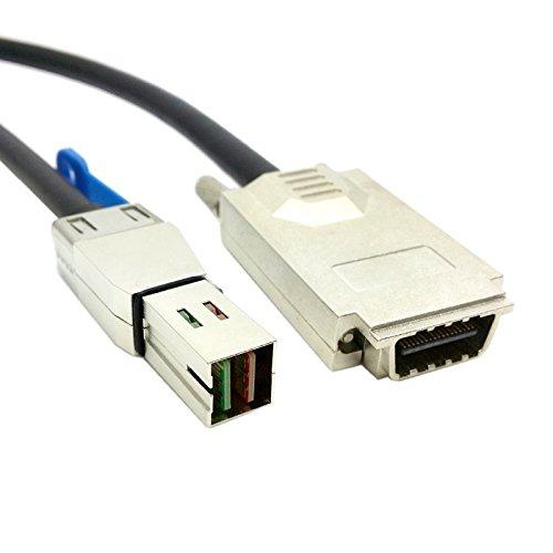Server, SAS-Kabel SFF-8644 auf SFF-8470 CX4 Infiniband Kabel, 12G -