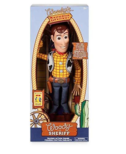Offizielle Disney Toy Story 16 Inch Pull String sprechen Woody Figur mit 19 Sätze (English Version)