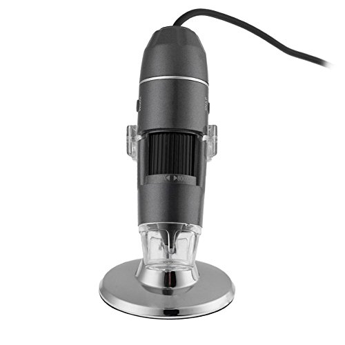 Demiawaking 800XUV 8 LED DC5V USB Digital Mikroskop Endoskop Kamera Lupe + Halterung Halter (Antike Digital Kamera)