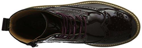 Bronx Damen Rifka-Chunky Kurzschaft Stiefel Violett (aubergine 86)