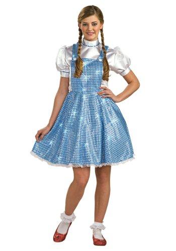 Womens Sequin Dorothy Fancy dress costume (Erwachsene Kostüme Dorothy Standard)