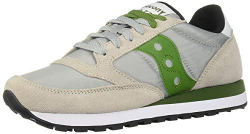 Saucony Schuhe männer niedrige Turnschuhe S2044-511 Jazz ORIGINAL Größe 43 Grau/grün -