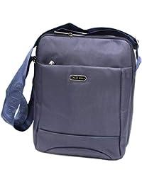 0b2d3a4cc7 COVERI WORLD Borsello uomo borsa tracolla grande bandoliera passeggio 7065  blu