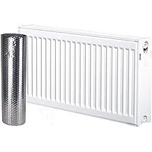 Solar bahía Radkit 5m x 60cm ahorro de energía Radiador de calor reflector aluminio doble aislamiento