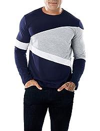 Tagether Mode Herren Beiläufig Patchwork Schlank Daunenjacke, Jacken,  Polo-Shirts Sportbekleidung Freizeitkleidung Hemd 1047b59ff0
