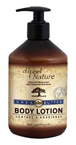 Difeel Organic Shea Butter Body Lotion 16.89 oz / 500ml by Difeel