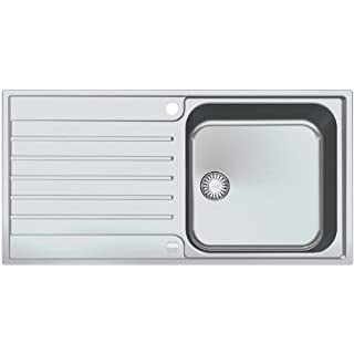 Franke inset sink Argos AGX 611-100 G smooth stainless steel, reversible basin, 1010197661