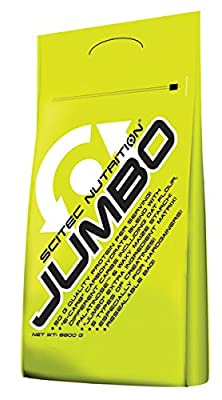 Scitec Nutrition JUMBO 8800g Protein/Carbohydrate Protein Weight Gain by SCITEC NUTRITION