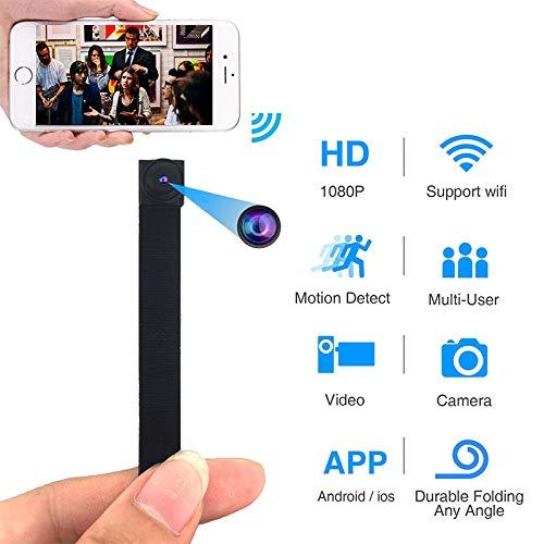 XuBa Mini WiFi IP Flexible Kamera 1080P Full HD Video Audio Recorder Bewegungserkennung Camcorder IP P2P Fernbedienung Mikrokamera APP Fernbedienung Audio Recorder Wifi