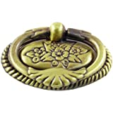 Sourcingmap - Armario cajón tirador puerta de armario metálico tono bronce