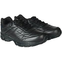 Unistar Walking Shoes; ST-01-Black