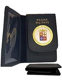 colore attraente Più affidabile Sconto speciale Amazon.it: Marina militare - Portafogli e porta documenti ...