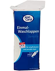 Jean Carol Single-Use Wash Cloths, Sensitive, (13 x... preiswert