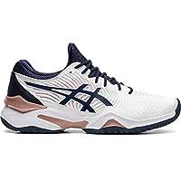 ASICS Women's Court FF 2 Tennis Shoes, 11M, White/Peacoat