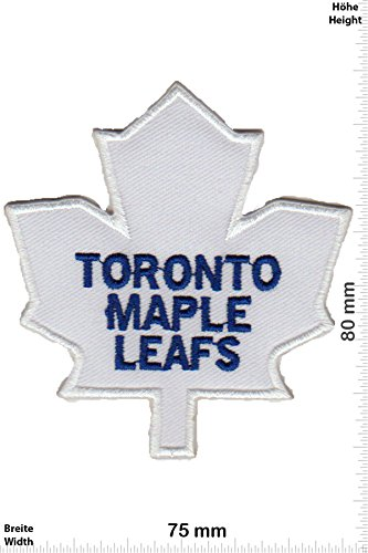Patch-Iron-Toronto Maple Leafs - National Hockey League - Motorsport - Sport - Sport - - Iron On Patches - Aufnäher Embleme Bügelbild Aufbügler -