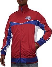 NBA Herren Los Angeles Clippers mit Reißverschluss Jacke mit Gesticktes Logo