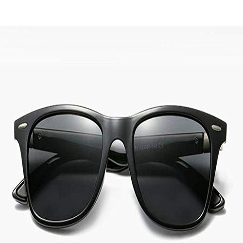 JING Männer Sonnenbrille polarisator Sonnenbrille Klassische lässige Sonnenbrille Männer - Brille - Black Die Männer, Suite