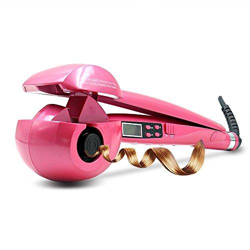 Rizador de pelo automatico barato Curling LCD Display Curler de cerámica Iron Wave Machine Steamer Euro Plug