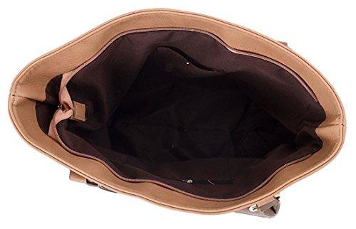 Piccola Etichetta Kukubird Freda E Abbellimento Bow Tote Bag Con Sacchetto Raccoglipolvere Kukubird Brown