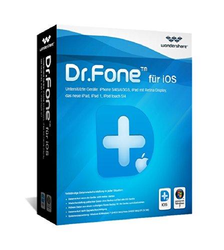 Preisvergleich Produktbild Dr.Fone iOS Win Vollversion (Product Keycard ohne Datenträger)