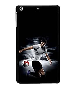 printtech Football Player Back Case Cover for Apple iPad Mini 3