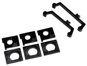 Kyosho K.MD306 - Bielas y Placas, Color Negro