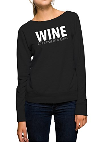 Wine Sweater Girls Black Certified Freak-XL