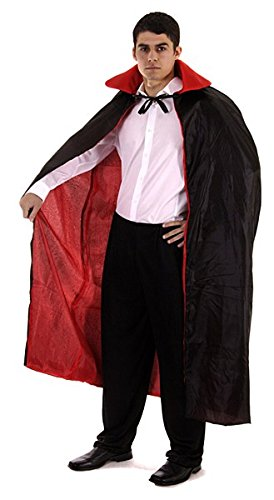 E CAPE MALE RED (Blue Reversible Kostüme)
