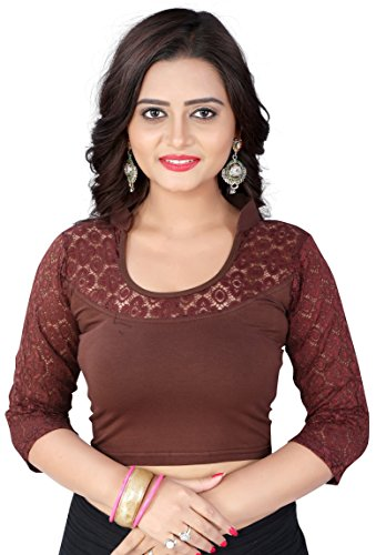CDPL Express Stretchable High Quality Shimmer Designer Stitched Readymade Blouse for Women...