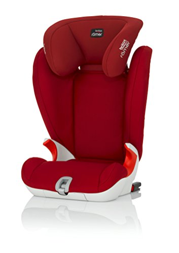 Britax Römer Kidfix SL, Autositz Gruppe 2/3 (15-36 kg), Kollektion 2018, flame red
