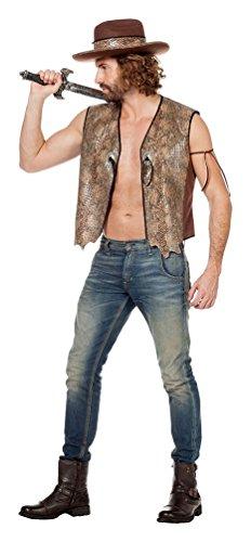Australien Kostüme (,Karneval Klamotten' Kostüm Krokodil Mann Herr Karneval Australien Herrenkostüm Größe)