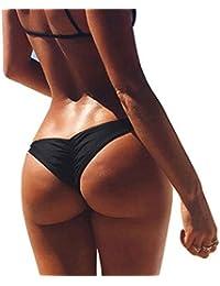 Imixcity®Femme Bandage String Maillots de bain Brésilien Bas Bikini Triangle Thong Panty 12 Couleurs