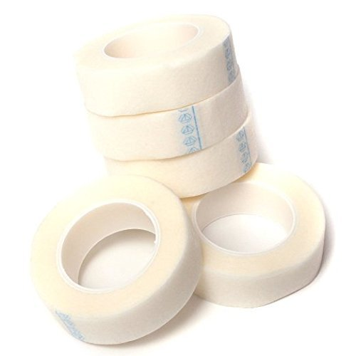dersoning 5PCS Band Medizinisches für die Versorgung einer Ausweitung Wimpern einzelnen (Farbe transparent)