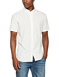 Selected Shhonelouis Shirt Ss Sts, Chemise Casual Homme