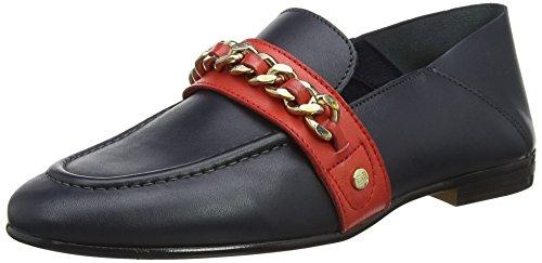 Chain Detail Corporate Loafer Slipper, Blau (Tommy Navy 406), 39 EU ()