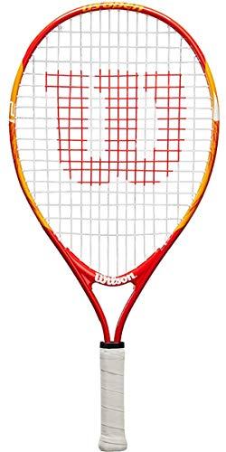 Wilson US Open 21, WRT20310U Racchetta da Tennis per Bambini , Rosso/Giallo
