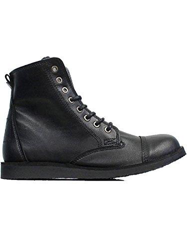 Will's Vegan Shoes BLACK URBANS-UK 12/EU 46/US 13