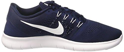 Nike Free Rn, Scarpe da Ginnastica Uomo Blu (Obsidian/White/Black)