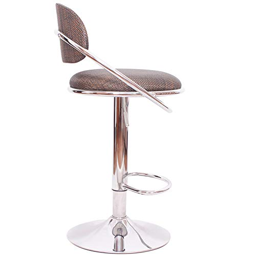 Zaixi Barhocker, kreative Eisenhocker Wicker Rattan Lift Bar modernen minimalistischen Hocker Mode -