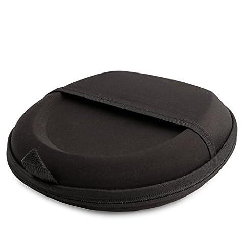 Reytid® Bose® Carry Case pour QuietComfort 2 / QC15 / QC25 Casques w / Built-In Support de câble - NOIR - Remplacement Voyage EVA Sac pochette housse de protection portable sans fil