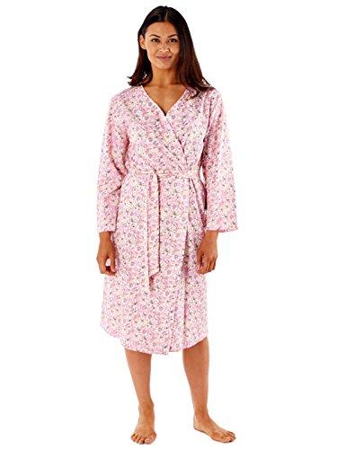 Inspirations - Robe de chambre - Portefeuille - Imprimé - Femme Rose - Rose