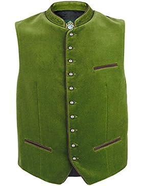 Herren Hammerschmid Samtweste apfelgrün 'Franz', hellgrün,
