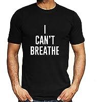Negro Vive la Materia-I No Puedo Respirar Hombres Mujer Libertad Civil Derechos Tops Camiseta Corto Manga Blusas 5-Styles / A2 / 2XL